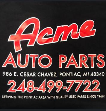 Acme Auto Parts Logo